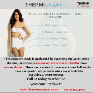Thermismooth-Body treatment for Chest, Breast, Arm, Abdomen, Flank, Back, Hip, Buttock, Thigh, Knee