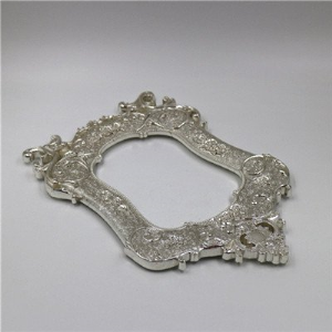 Silver Plating Photo Frame, Aluminum Alloy Die Casting