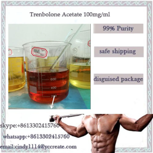Lean Muscle steroid solution Tren A Trenbolone Acetate 100mg/ml whatsapp+8613302415760