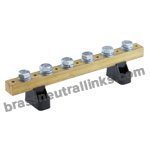 Solid Brass Terminal Bars
