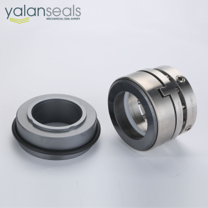 YALAN C22B Multi Spring Balanced Mechanical Seal for Chemical Centrifugal Pumps, Vacuum Pumps, Compr