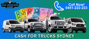Cash For truck Wreckers Sydney