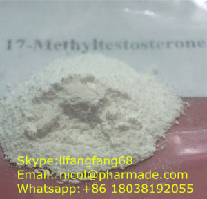 17-Methyltestosterone Raw Testosterone Powder Methyltestosterone nicol@pharmade.com