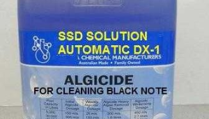 Pure SSD CHEMICAL SOLUTION FOR CLEANING BLACK NOTES
