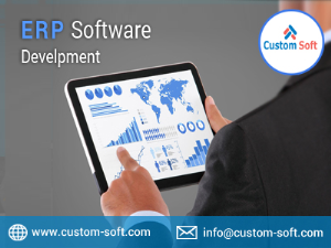 ERP Software Development Services India by CustomSoft