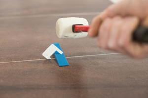 removing clips and wedges after tile leveling