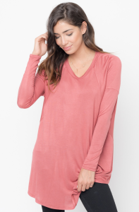 Buy Now Raglan Long Sleeve Tunic Online $28 -@caralase.com