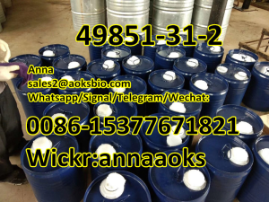99% purity light yellow Cas 49851312, cas49851 31 2,cas49851-31-2,sales2@aoksbio.com, Signal/Whatsap