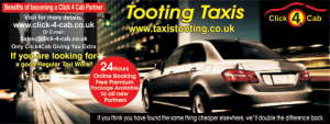 Tooting Taxis Banner
