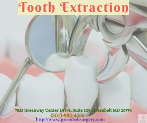 Why Tooth Extraction is needed to be done - Greenbelt Oral & Facial Surgery