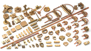 Brass Earthing Components and Parts