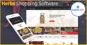 Herbs Shopping Software by CustomSoft