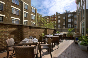 Woburn Place Terrace at Hilton London Euston