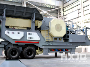 HXJQ Large Capacity Mobile Jaw Crusher Price