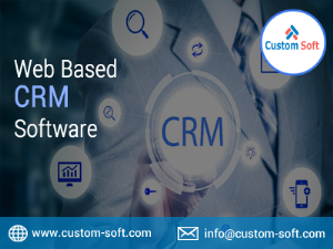 Customized CRM Software System India by CustomSoft