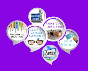 marketing, graphic and web design, advertising