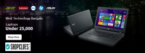Budget Laptops Under Rs.25,000/- goosedeals.com