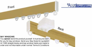 Try Now! Silent Gliss Curtain Tracks - The Poles Company