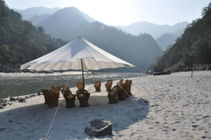 Adventure Activities And Camping in Riverside Rishikesh