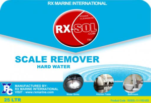 scale remover hard water