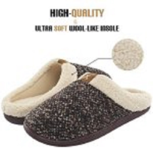 Men's Comfort Memory Foam Slippers