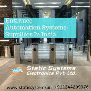 Entrance Automation Systems Suppliers In India