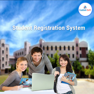 CustomSoft developed Student Registration System
