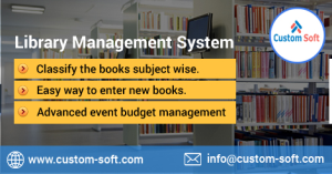 Best Library Management System by CustomSoft