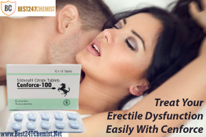 Buy Cenforce 50mg - Generic Sildenafil Citrate Tablets
