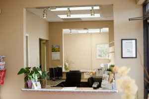 Front office at Tucson dentist Creative Smiles Den