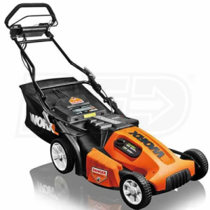 "Worx Pace Setter (19"") 36-Volt Cordless Electric Self Propelled Lawn Mower"