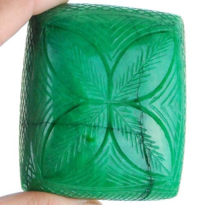 Buy Emerald Supreme Green Hand Carved Gemstone Available Only On Ebay