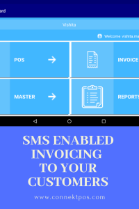 SMS Enabled Invoice