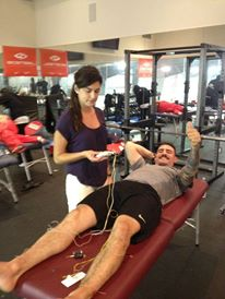 Athletes care at Biosteel Camp
