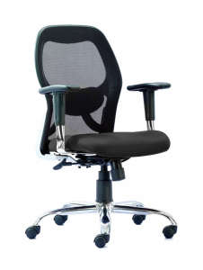 HOF Professional Ergonomic Medium Mesh Back Chair - MARCO 1008 M