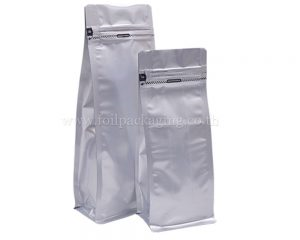 With or Without Zipper Flat Bottom Pouches
