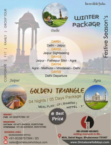 Golden Triangle Winter Package Om Leisure Holidays