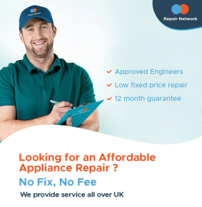 Repair Network - London, Liverpool, Manchester.