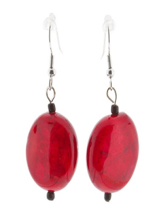 Women's Red Earrings