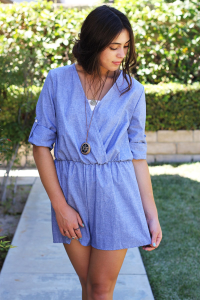 http://www.caralase.com/chambray-romper/