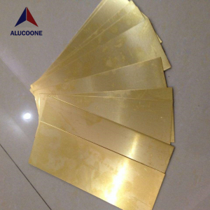 High Quality Brass Plastic Composite Panel Copper Panels Brass Panels