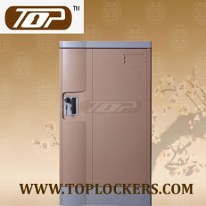 Triple Tier Plastic Factory Locker, Smart Designs, Strong Lockset