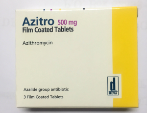 Buy Azeltin (Azithromycin) 500mg Tablets