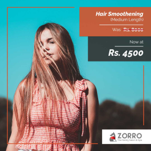 Salon Offers - Hair Smoothening