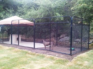 Expanded Animal and Equipment Cage