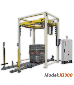X1300 Ring Type High Speed Fully Automatic Pallet Wrapping Machine