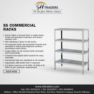 Get The Most Professional Stainless Steel Rack For Your Kitchen