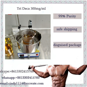 Tri Deca 300 Blend steroid gear for Lean Muscle whatsapp+8613302415760