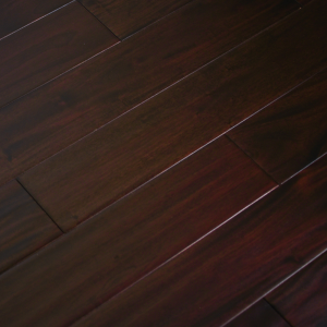 Solid Hardwood Floors Indo Mahogany Collection Dark Ebony