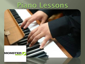 What it Takes to Play Piano